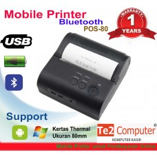 Mobile printer bluetooth POS-80